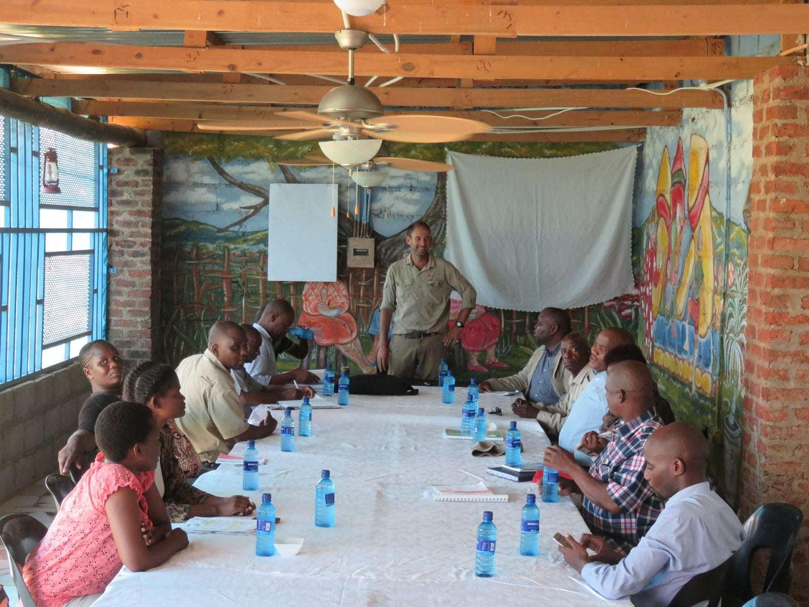 NAMPAADD-opleiding, Gaborone, Botswana