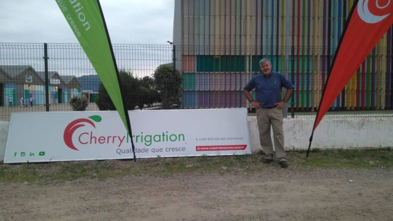 Cherry Irrigation Angola opens doors in Quibala and makes (news) waves